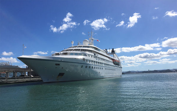 Windstar Cruises - 4 times the Caribbean cruise made me cry
