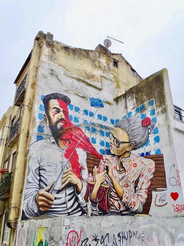How Lisbon's street art changed my views on graffiti
