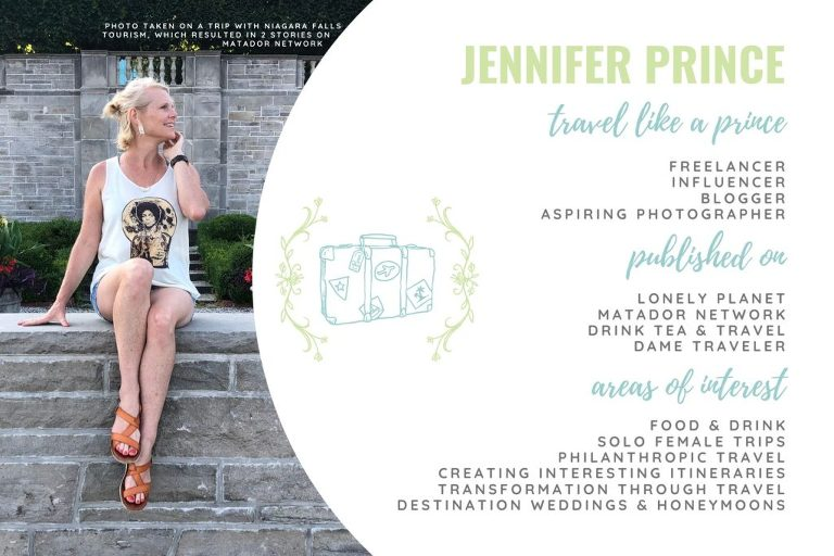 Jennifer Prince Freelance Travel Writer Media Kiit